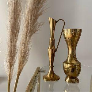 Little Brass Vases | Set of 2